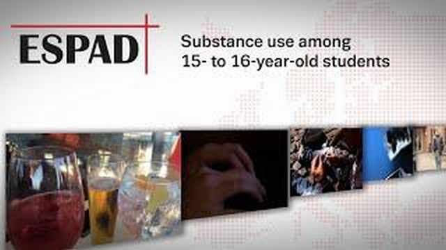 Substance use among 15- to 16-year-old students (ESPAD 2015)